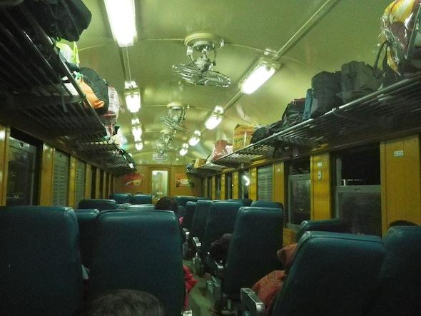 Nakts vilcienā līdz Ubon Ratchatami