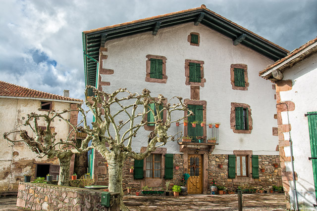 Basque house in Zugarramurdi
