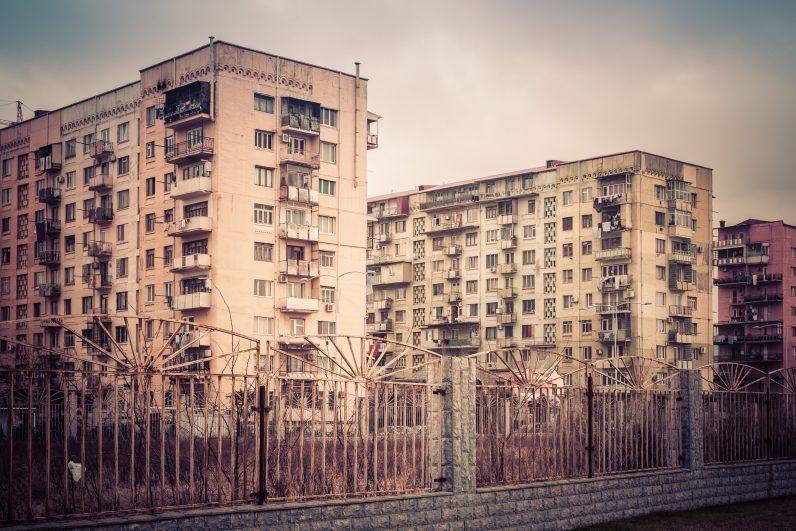 PSRS laika mājas Gruzijā