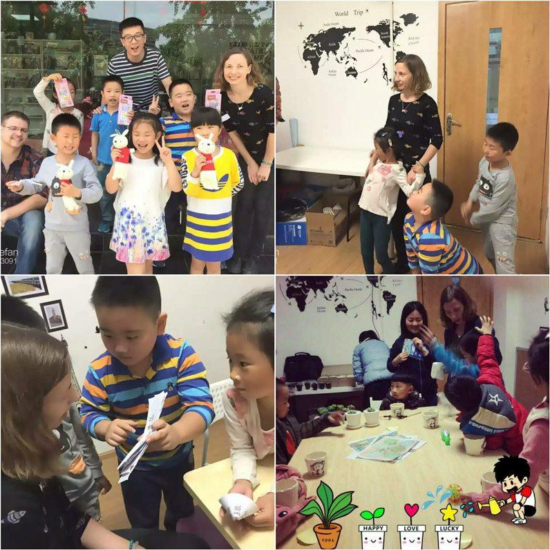 Skolotajas darbs Kina
