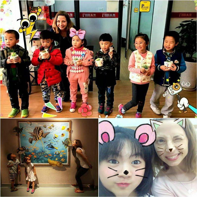 Skolotājas darbs Ķīnā