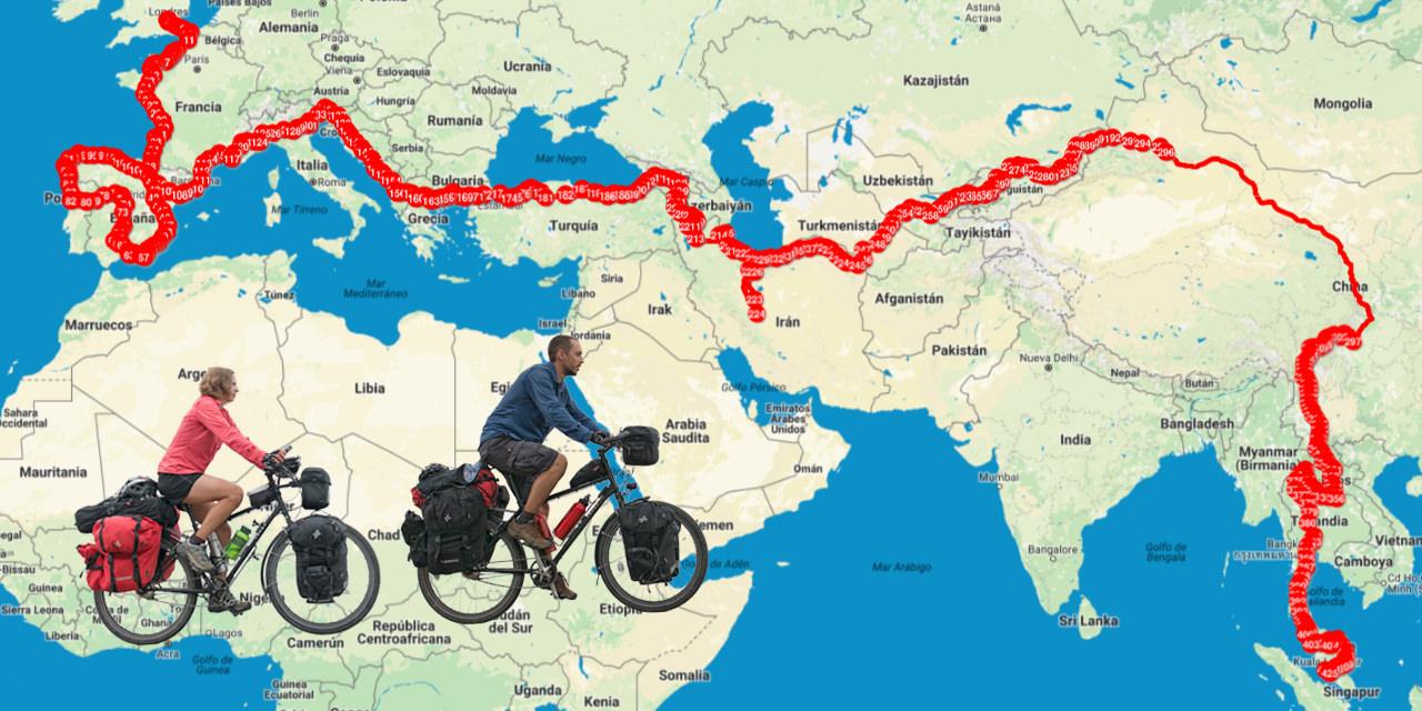 3 gadi un 24 000 km – ar velosipēdu apkārt pasaulei